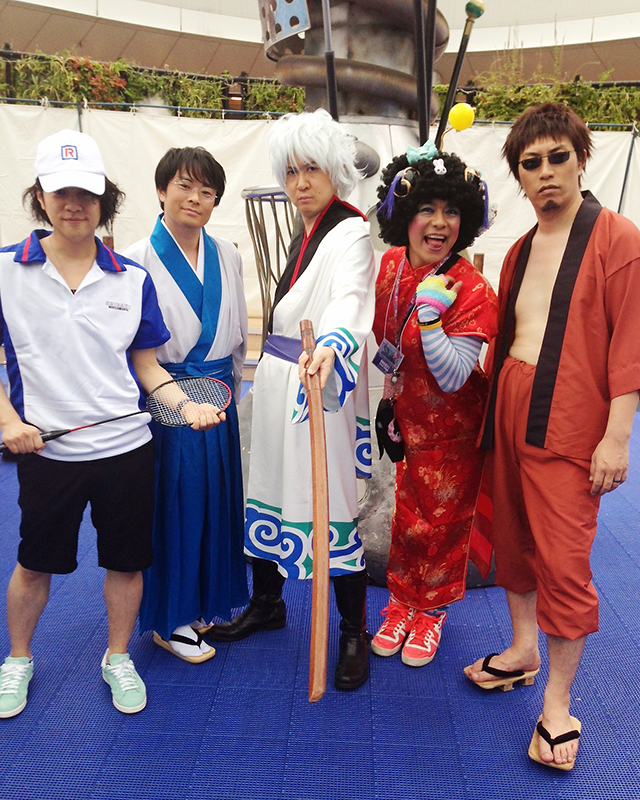 杉田智和さん、阪口大助さんにACOSのコスプレ衣装を着用いただきました♪   ACOSオンライン