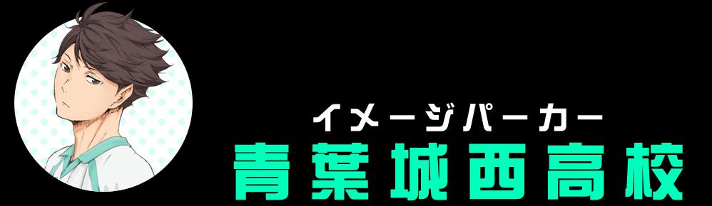 イメージパーカー(青葉城西高校)