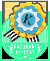 KAZUNARI MIYOSHI