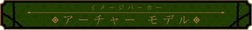 イメージパーカー アーチャーモデル