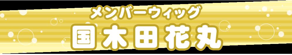 メンバーウィッグ 国木田花丸