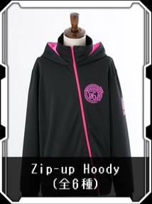 Zip-up Hoody(全6種)