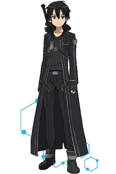 ACOS(アコス)より「ソードアート・オンライン」キリトの衣装(黒