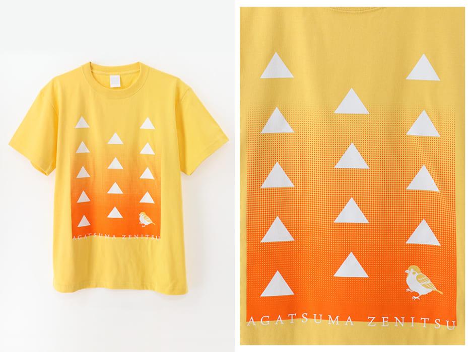 Tシャツ,鬼滅の刃,公式,我妻善逸