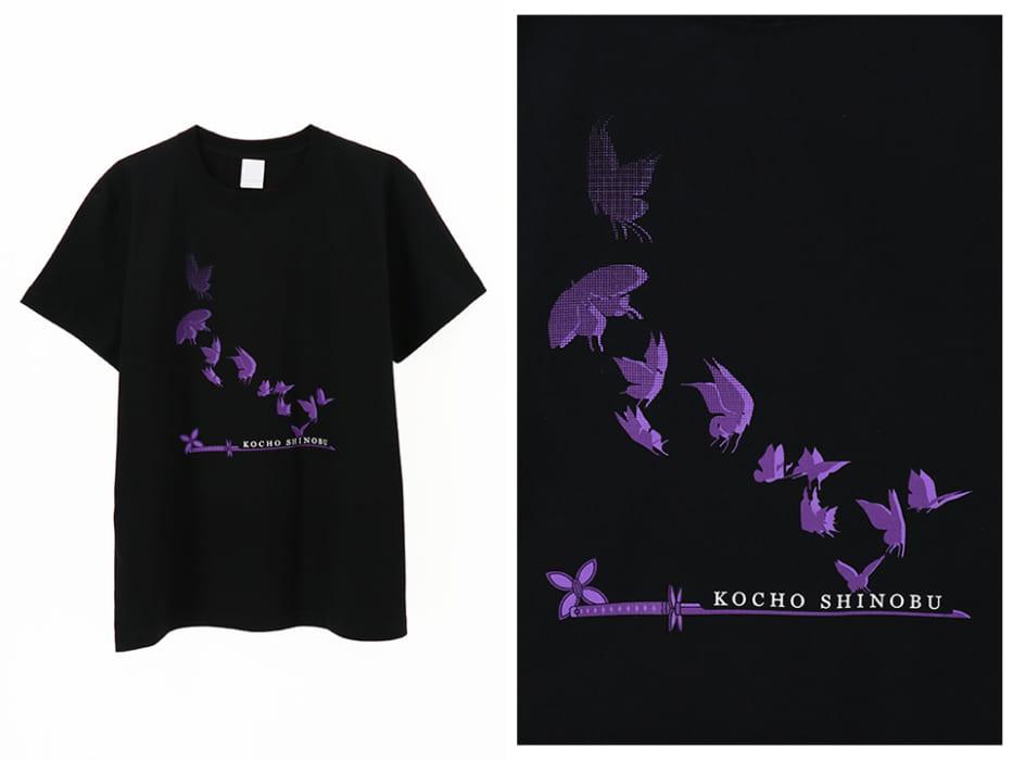 Tシャツ,鬼滅の刃,公式,胡蝶しのぶ