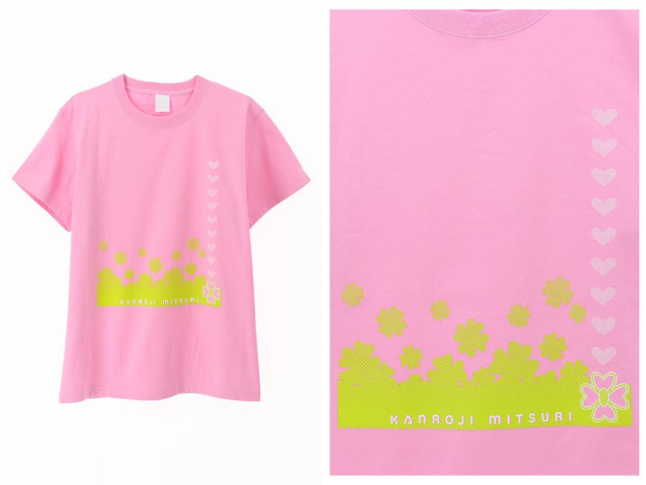 Tシャツ,鬼滅の刃,公式,甘露寺蜜璃